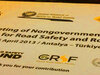 3rd Global Meeting of NGOs for road safety takes place this week