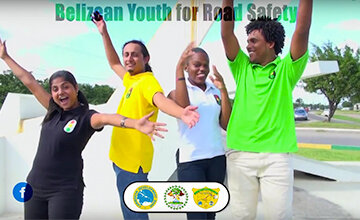Belizean Youth for Road Safety continue action with youth in Belize!