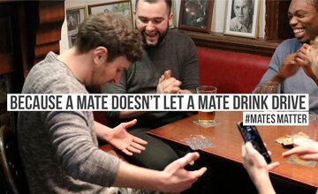 #MatesMatter - peer influence for designated drivers by Think! and LadBible