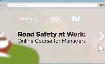 Check out Easst Academy - an online course for road safety managers