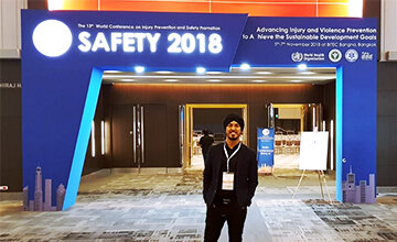 Reporting back from Safety 2018: global violence and injury prevention - Thailand.