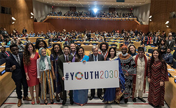 Youth 2030: The UN Strategy on Youth -  working with and for young people