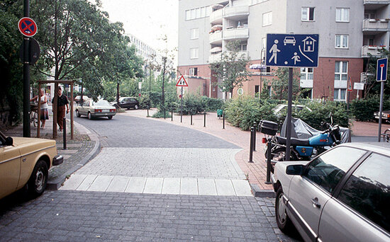 The Dutch 39 Woonerf 39 An Example Of Safe Road Spaces News Blo