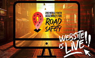 Website for the 2nd World Youth Assembly for Road Safety is now live!
